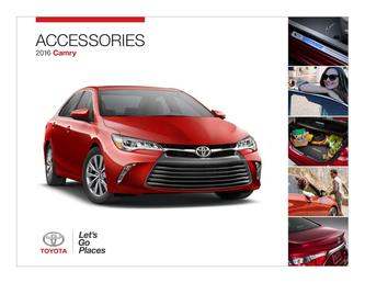 2016 Camry Accessories