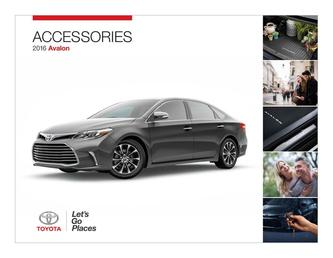 2016 Avalon Accessories