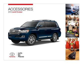 2016 Land Cruiser Accessories