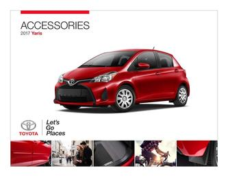 Yaris Accessories 2017