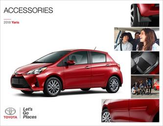 2018 Yaris Accessories