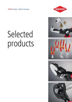 Selected products 2017