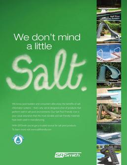 Salt Pool Friendly 2013