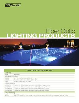 Fiber Optic Lighting Products 2016