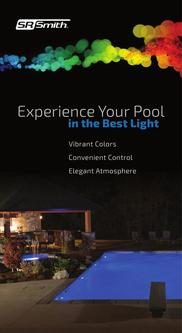 Experience Your Pool in the Best Light- lights and controls 2017