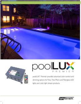 poolLUX Premier Sales Sheet 2017