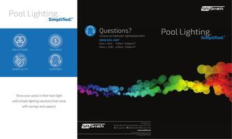 Pool Lighting Simplified Tri-Fold 2017