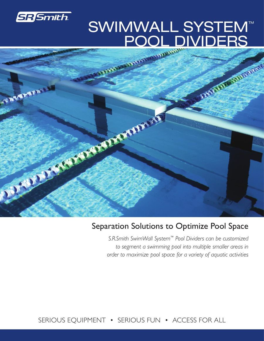 Swimwall Systems 2018 by S.R.Smith