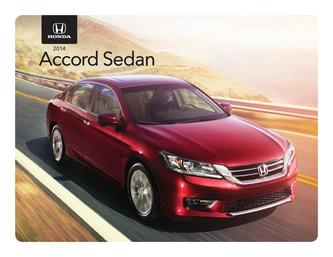 2014 Honda Accord Sedan Fachtsheet