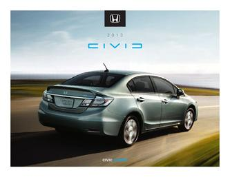2013 Honda Civic Hybrid Factsheet