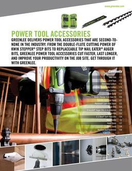2015 Power Tool Accessories