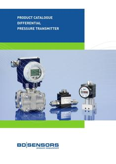 Differential  pressure transmitter 2017