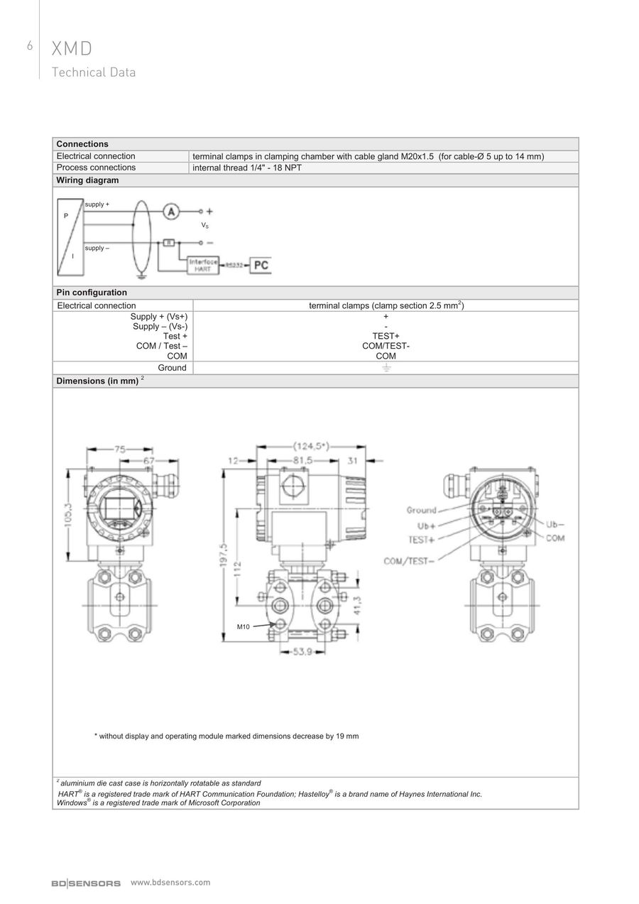Page 8 Of Differential Pressure Transmitter 2017 Ct Wiring Diagram P 28