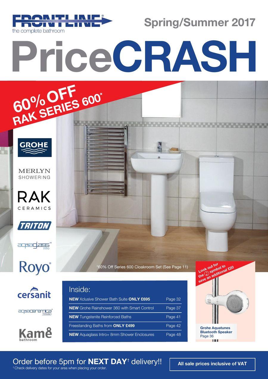 Price Crash Brochure 2017 by Frontline Bathrooms