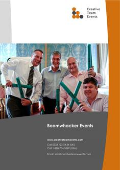 Boomwhacker events 2017
