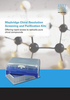 Chiral Resolution Screening and Purification Kits 2017