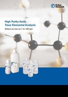 High Purity Acids Trace Analysis 2017