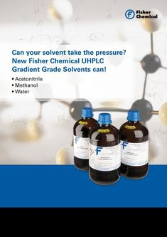 UHPLC Gradient Grade Solvents 2017