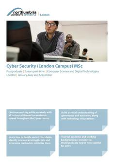 Cyber Security (London Campus) MSc 2017
