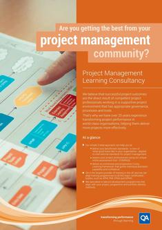 Project Management Learning consultancy 2017