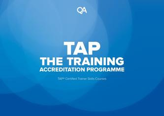 TAP® Certified Trainer Skills Courses 2017