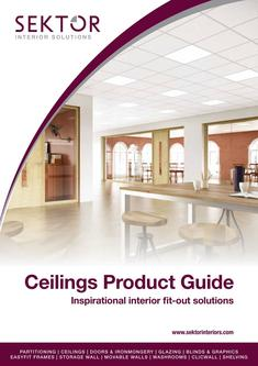 Ceilings Product Guide 2017