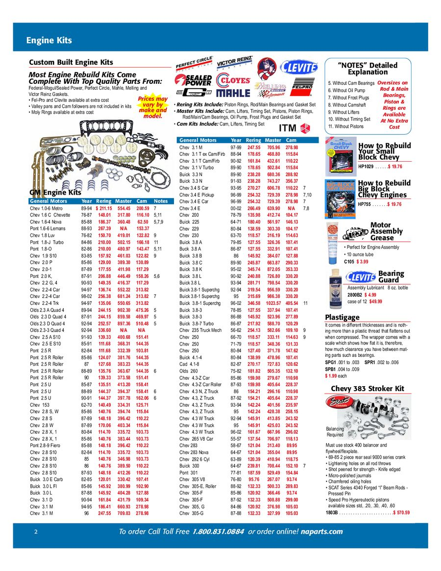 Issue 91 By Northern Auto Parts Chevy 350 Timing Problems