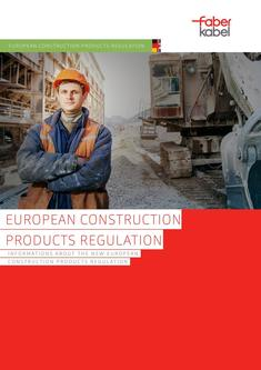 Information about European Construction Products Regulation 7/2017
