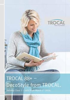 TROCAL 88+ DecoStyle Delivery Class 1 2017
