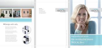 TROCAL 88+ residential door main brochure 2017