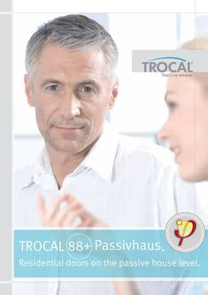 TROCAL 88+ residential door passive house Dr. Feist 2017