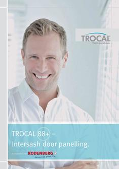 TROCAL 88+ residential door with intersash panelling 2017