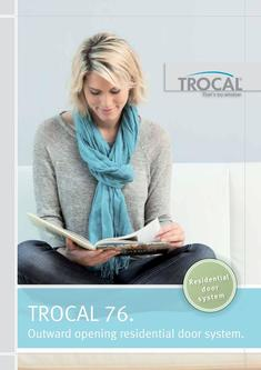 TROCAL 76 residential door outward opening 2017