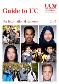 Guide to UC for International Students 2017