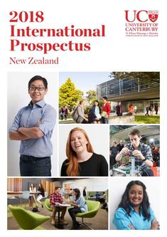 International Students Prospectus 2017