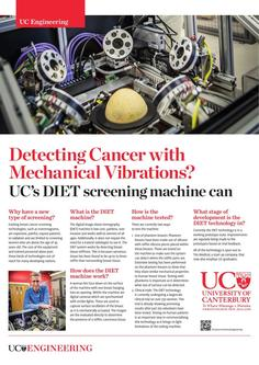 Detecting cancer with mechanical vibrations 2017