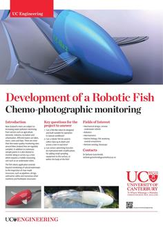 Development of a Robotic Fish 2017