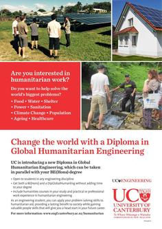 Diploma in Global Humanitarian Engineering 2017