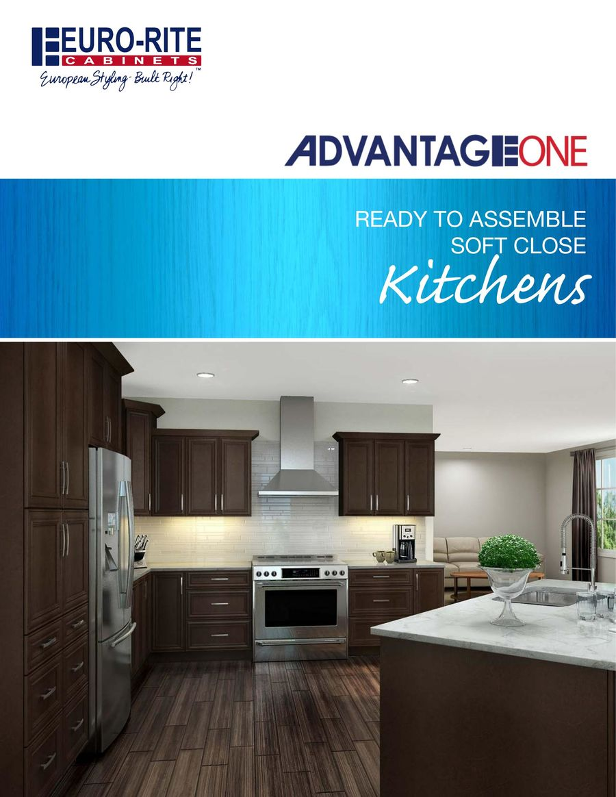 A1 Kitchen Brochure 2017 by Euro-Rite Cabinets