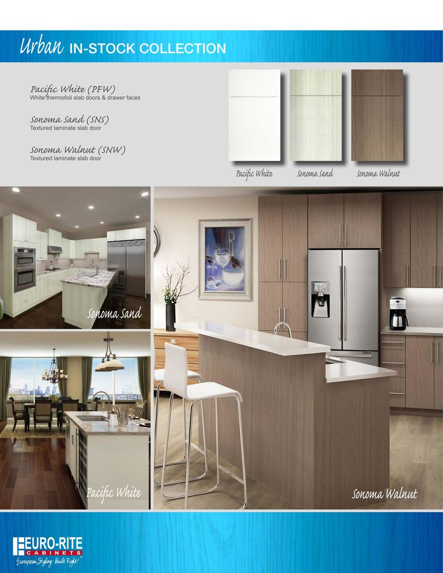 a1 kitchen brochure 2017 by euro rite cabinets