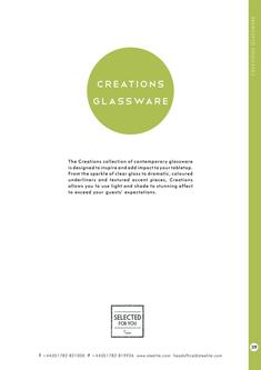 Collections - Creations Glassware 2017