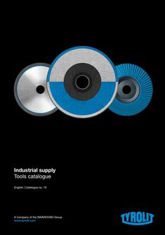 Industrial supply Tools catalogue 2016