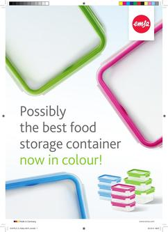Possibly the best food storage container now in colour 2017