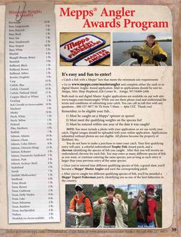 Mepps Angler Awards Program 2017