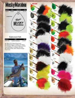 Musky Marabou & Replacement Tails 2017