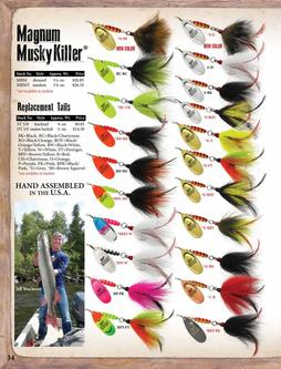 Magnum Musky Killer® & Replacement Tails 2017