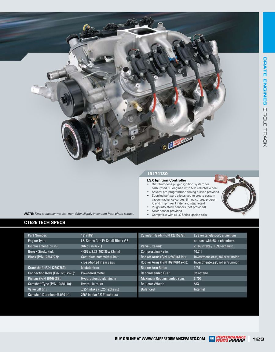 Page 125 of 2010 GM Performance Parts