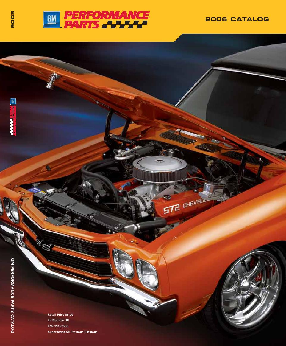 GM Performance Parts 2006 Catalog by GM Parts Direct