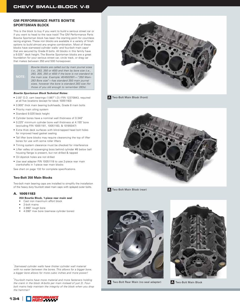 Page 136 of GM Performance Parts 2006 Catalog