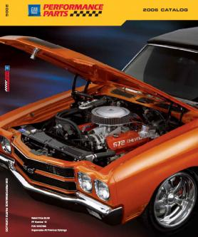 Catalogue: GM Parts Direct GM Performance Parts 2006 Catalog